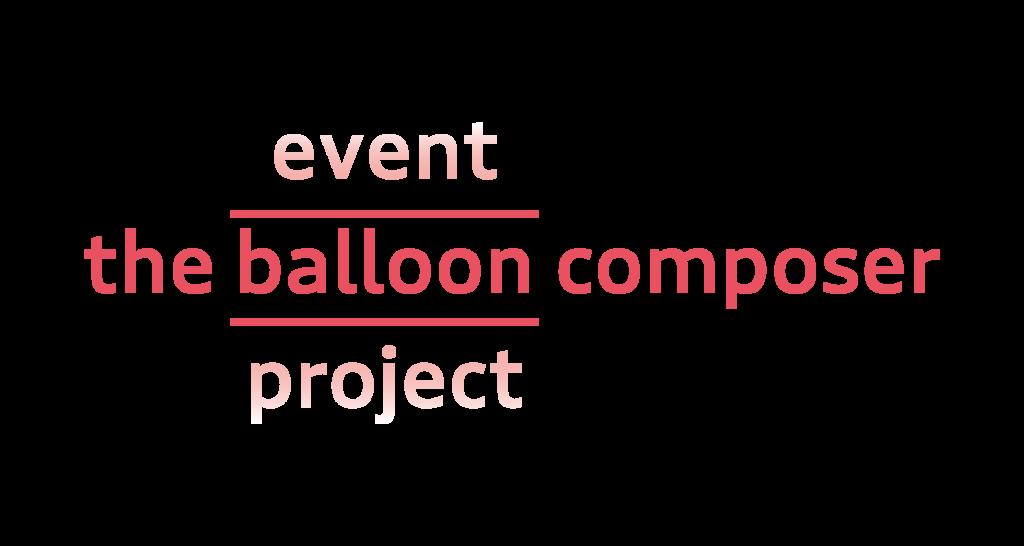 Logo The Balloon Composer Rood