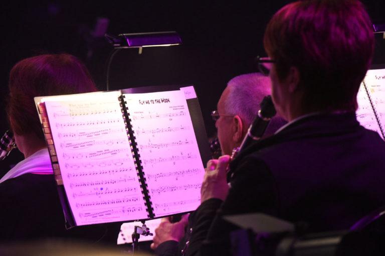 Bladmuziek A Night at Vegas