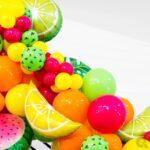 Ballonnenslinger met fruit